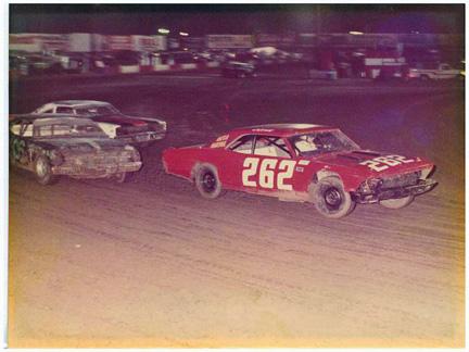 John at the race track