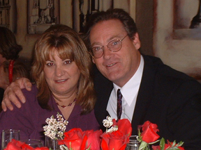 Donna Thompson-Becker and Charlie Becker